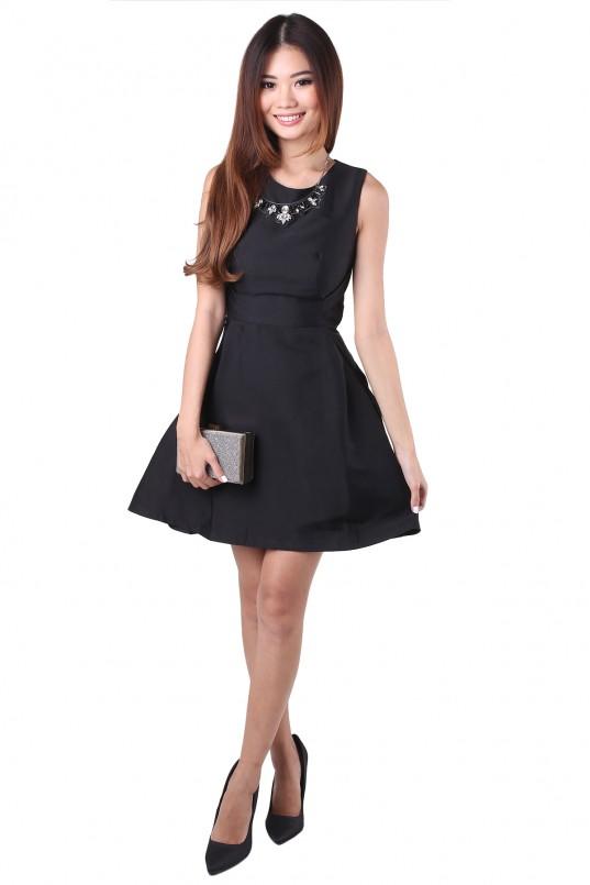 a4493ea1041d Veronique Dress in Black