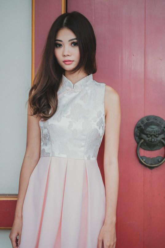0a6ed9cf54a8 Vanity Cheongsam in Pink