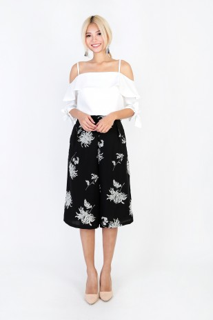 c7fe5ecf019 Gigi Floral Culottes in Morning Glory