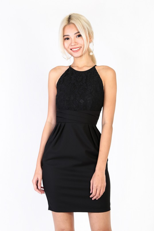 e8152de37d Mirelle Lace Dress in Black
