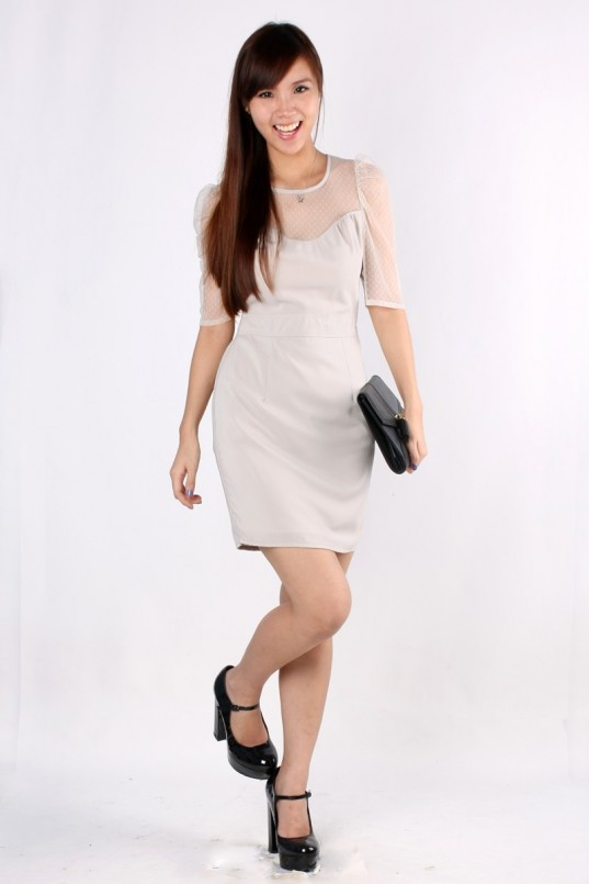 Gwendolyn Workdress in Grey