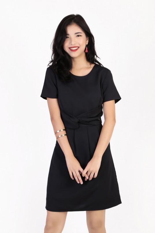 eb7efd784db Culver Sleeve Dress in Black