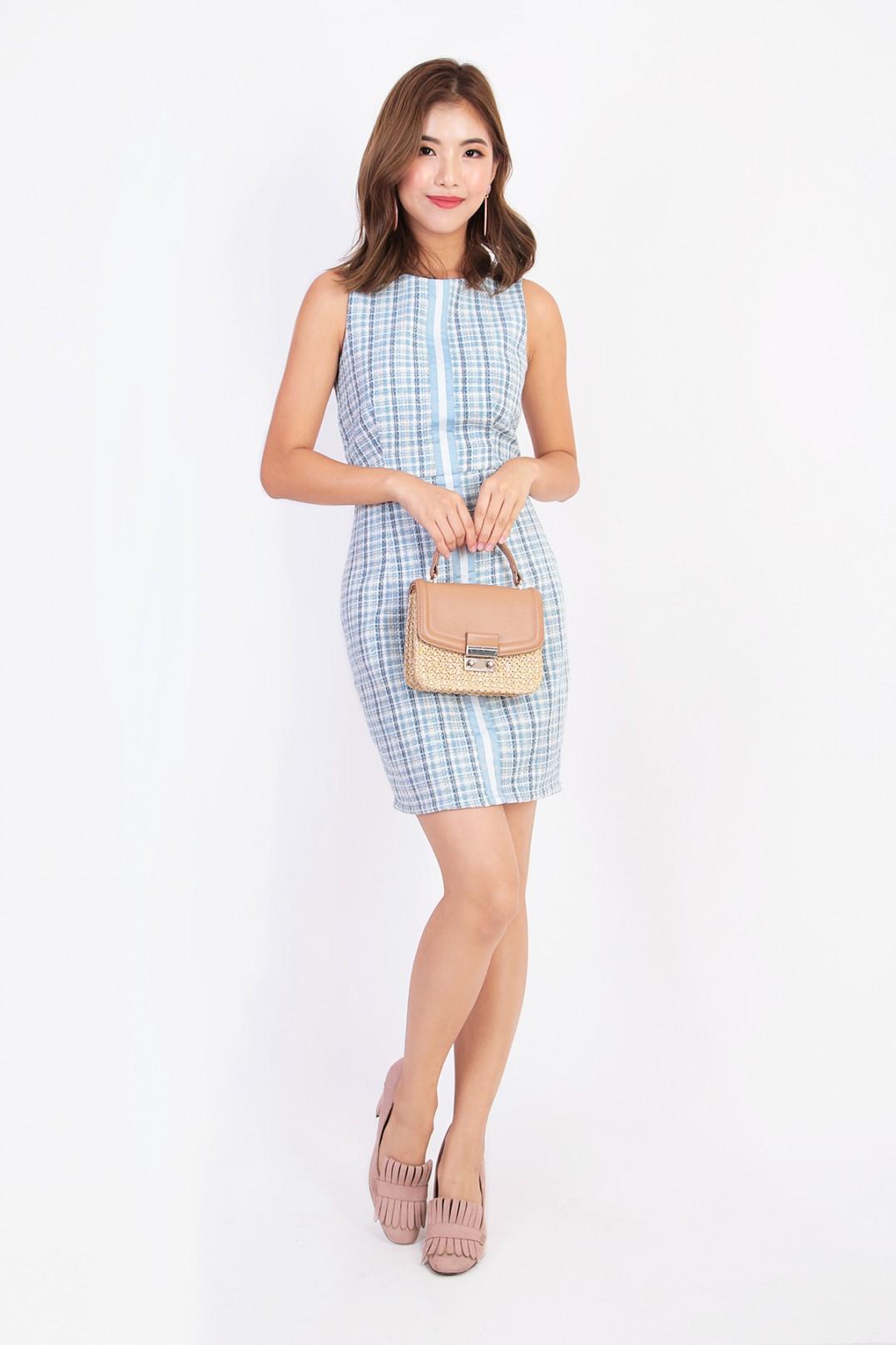 217288353b Maelys Tweed Dress - MGP