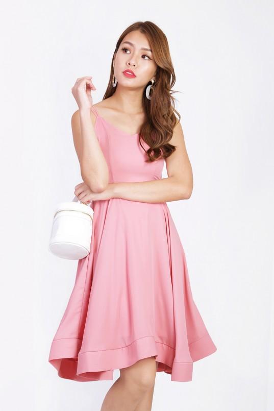 60c4929337 Alva Swing Dress in Pink
