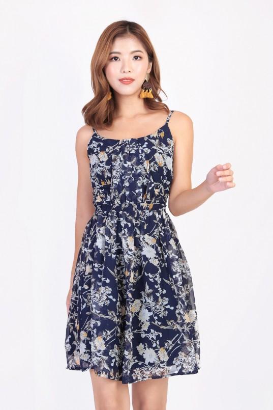 2d1d14d04c00 Joyder Floral Dress in Navy