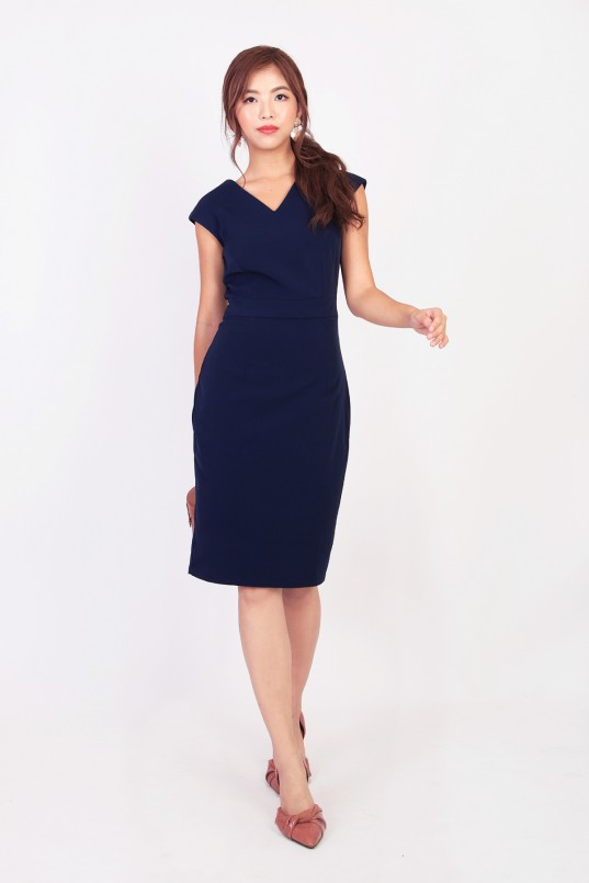 fd4d1f062db Canice Workdress in Navy · This irresistible work dress is ...