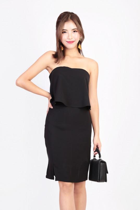 ccebe59080abd RESTOCK: Kelley Tube Dress in Black