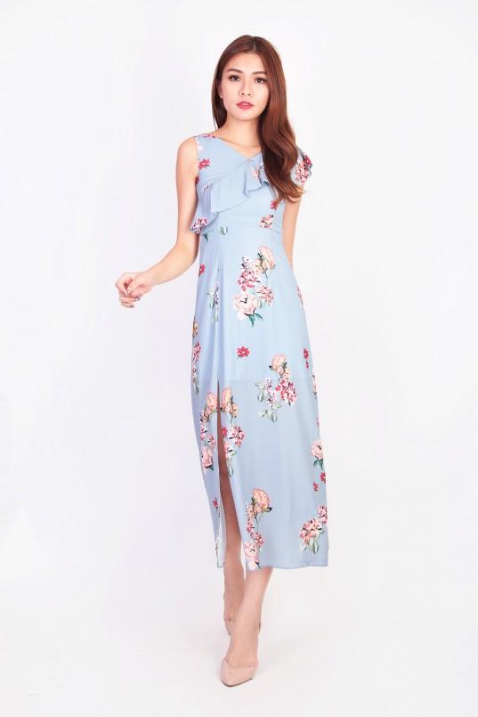 41c2e0d8d41e Jerlyn Floral Maxi Dress in Blue
