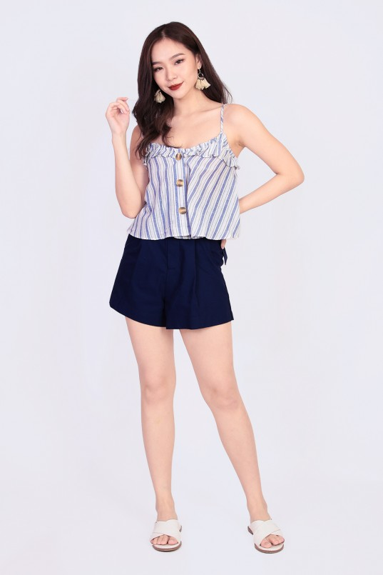 5d7404ebc Hartley Stripes Top in Blue