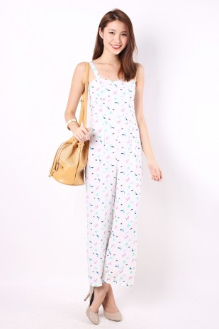 Jacinth Jumpsuit in White